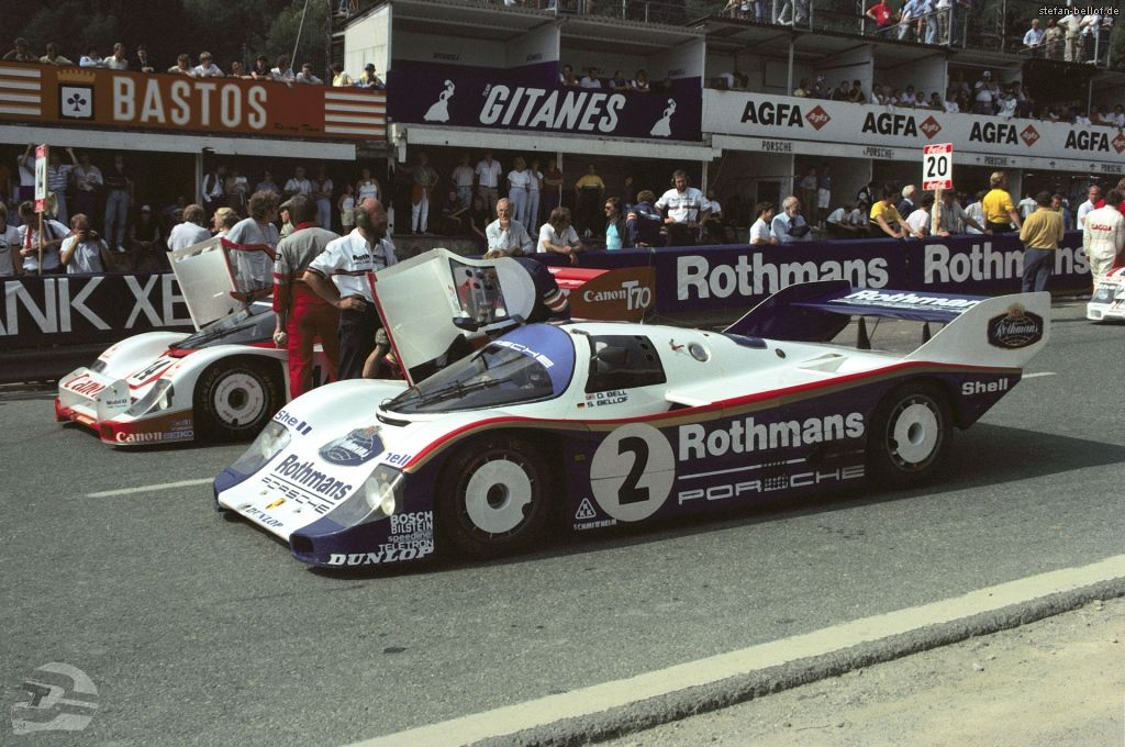 Studio27 : Kit Porsche 956 Rothmans 1984 - short tail -